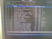 Trzask z dysku w laptopie - przez bad sector