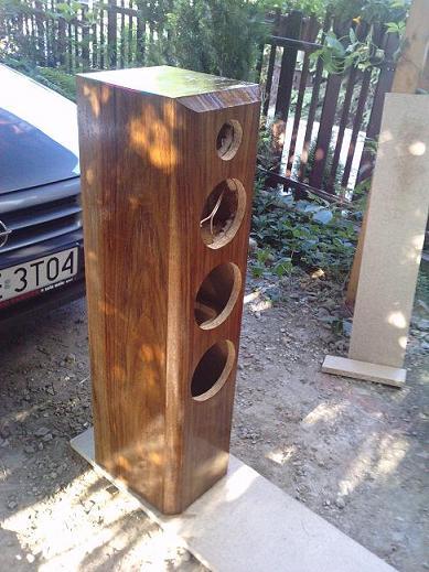 Kolumny głośnikowe na tonsilach i sony