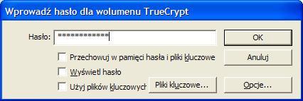 problem z zamontowaniem dysku w TrueCrypt!!