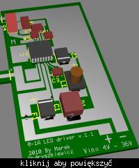 Latarka LED 0,5W Moja konstrukcja