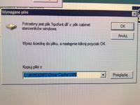 Nie mogę zaistalować drukarki na XP Brak pliku
