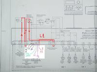 Podłączenie palnika do sterownika BUDREUS Logamatic R 2105