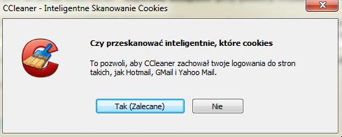 Czyszczenie komputera przy pomocy programu CCleaner