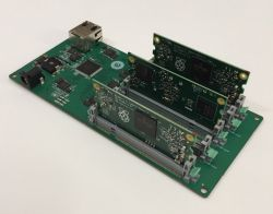 Raspberry Pi 3 CoM Carrier Board - płyta do budowy klastra z 5 Compute Module