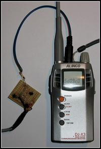 Pytanie odnośnie kabelka Alinco DJ-X3 ----> Komputer