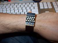 Zegarek z wyświetlaniem POV