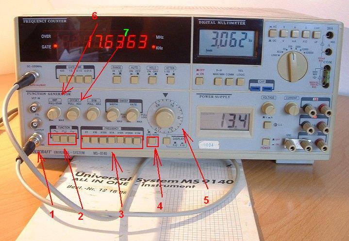 Pomiary z wykorzystaniem charakterografu (dzielnik napięcia)