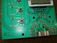 Pralka Whirlpool AWG 879/D moduł przy przednim panelu