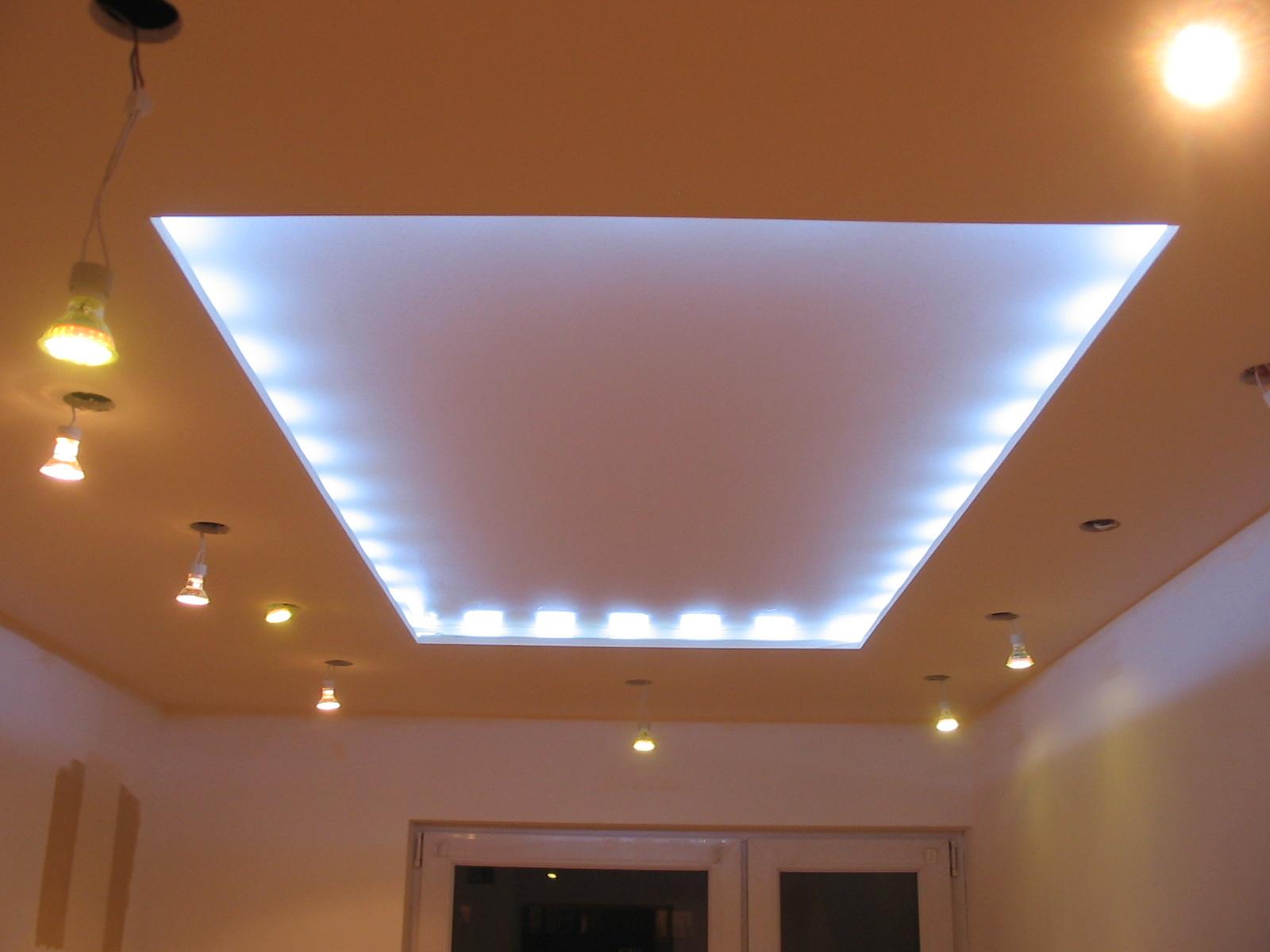 Oświetlenie Sufitu W Pokoju Elektrodapl