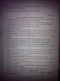 Egzamin Zawodowy - technik teleinformatyk 2010 (wersja X)