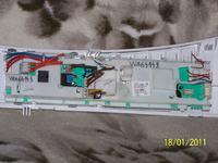 pralka gorenje wa64123 - uszkodzony moduł sterowania silnikem