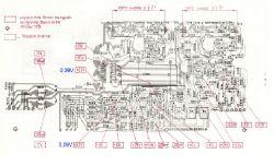 UNITRA PW3015 po wymianie tranzystorow dalej Nie gra poprawnie.