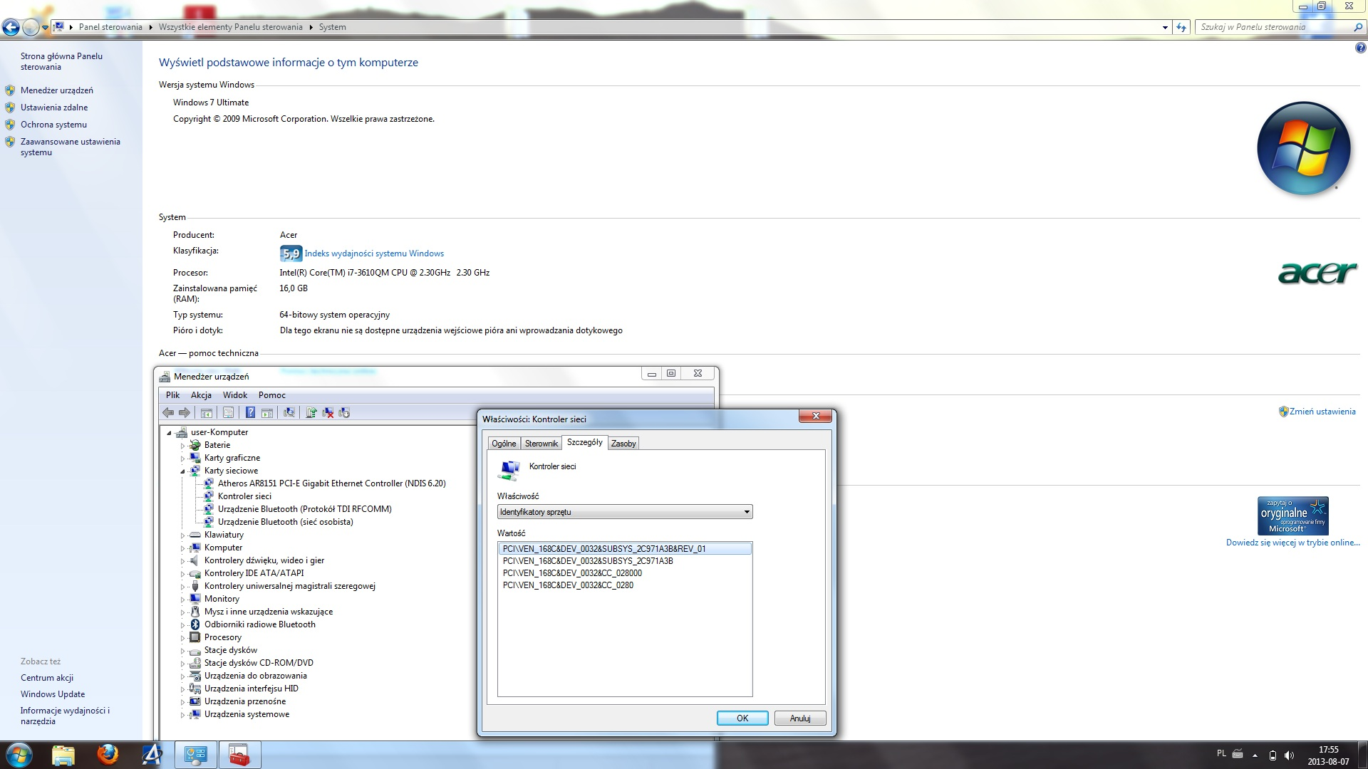 Windows 7 64-bit - totalne usuwanie sterownik�w
