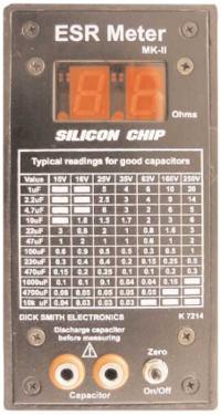 Mikroprocesorowy miernik ESR kondensatorów elektrolitycznych