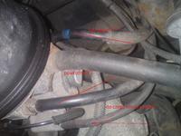 opel astra f x14nz - wtrysk-przewody paliwowe