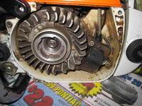 Zenoah Komatsu G621 AVS - brak cewki zap�onowej