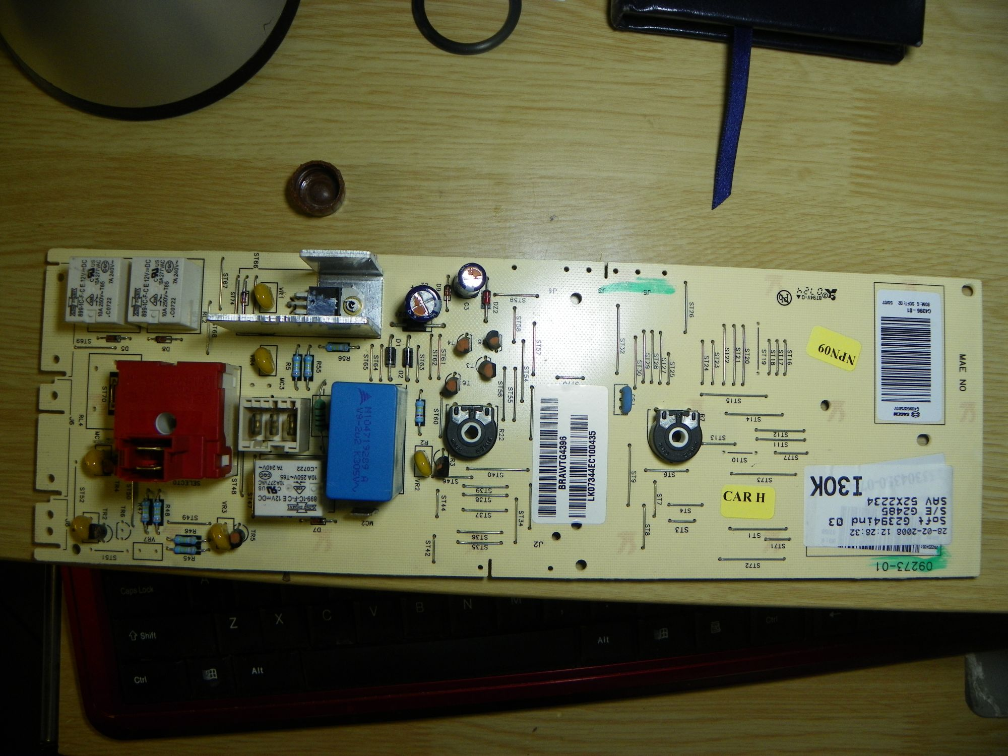 Bosch WOR16151PL/05 - uszkodzony obw�d tacho