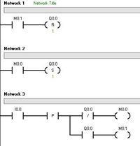 S7-200 - Za��czanie przyciskiem monostabilnym, dziwne dzia�anie programu