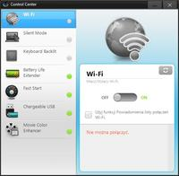 Samsung RC730 - WiFi i Bluetooth