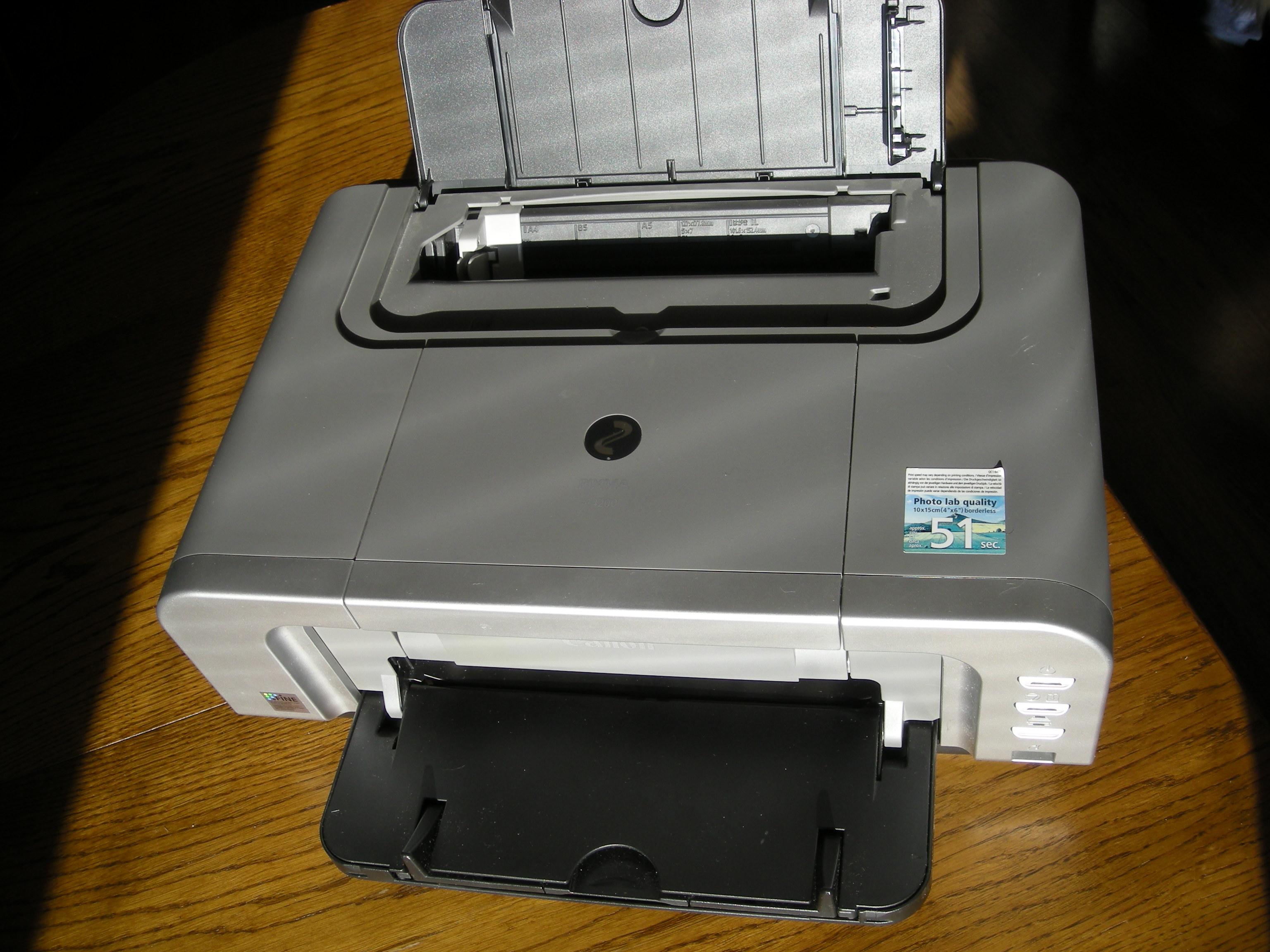 [Sprzedam] Drukarka Canon IP4200, na cz�ci, uszkodzona - nie chce drukowa�
