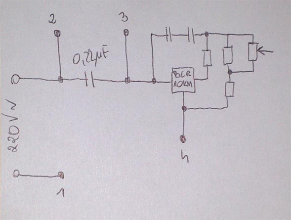 podlaczenie silnika zelmer xs -