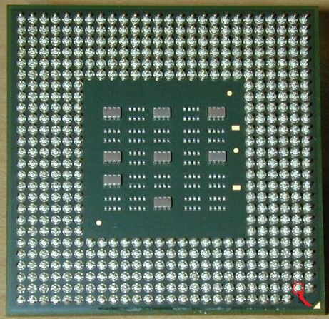 Intel Celeron M 420 1.6Ghz - wy�amany pin
