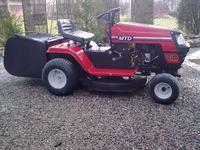 Opryskiwacz do pryskania chwast�w do traktorka MTD