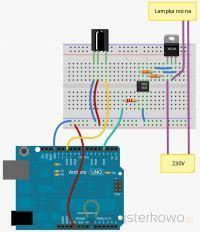 Arduino sterowanie cewką gazową sygnałem PWM