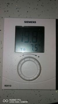 Vaillant Ecotec PRO28 + VRC700 - ogrzewanie wyłącza się po max 10 min.