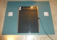 - Ogrzewanie do lustra łazienkowego 230VAC