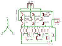 Prosty sterownik silnika krokowego 3-cewkowego (HDD)