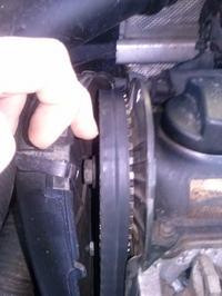 Golf III 1.8+LPG - Czy tak wygląda poprawnie ustawiony pasek rozrzadu?