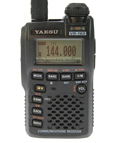 Yaesu VR-160, VR160 Instrukcja EN