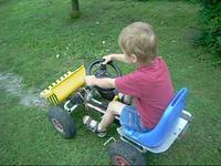Minipojazd elektryczny dla najmłodszych