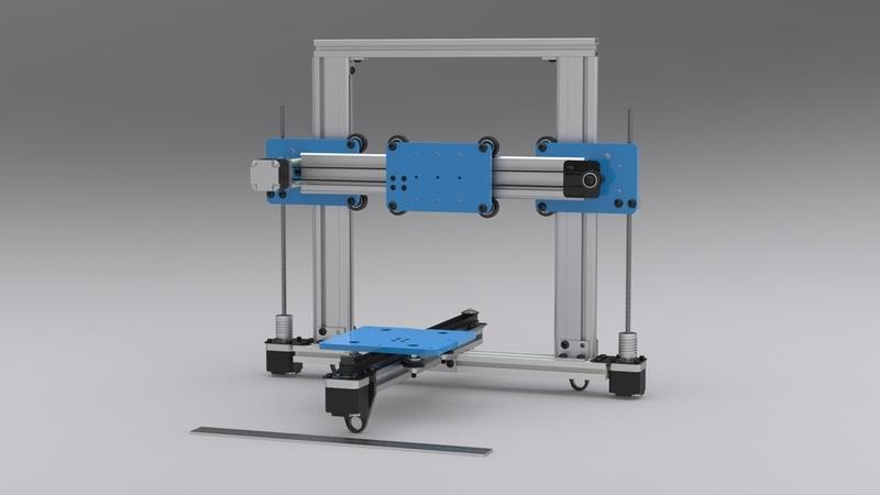 DIY drukarka 3d - The Quantum ORD Bot