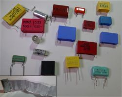 Why film capacitors lose their capacity - MKP X2 capacitor section