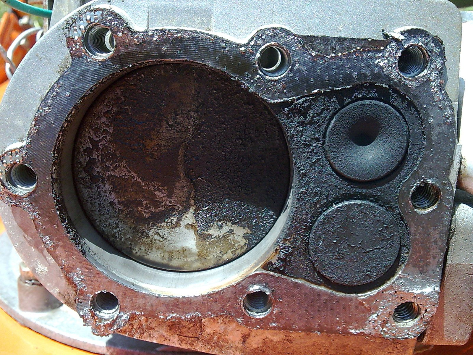 Szlif cylindra w kosiarce z silnikiem Tecumseh Vantage 35 ?