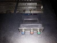 amp Yamaha RX385+TV SHARP 264 - brak dźwięku na kolumnach