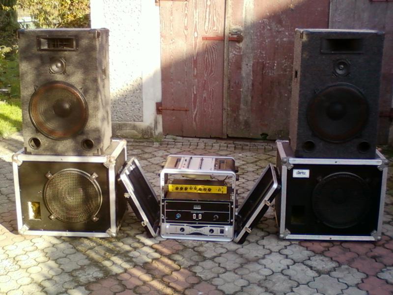 [Sprzedam] Nag�o�nienie EV, Peavey. 2+2+ko�c�wki! DJ, Kapela, lokal!