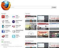 Firefox 12 dostanie nową stronę startową