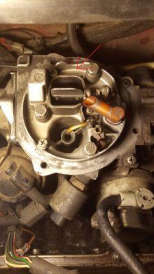 VW Golf II 1.6 PN - Kłopot z rozruchem silnika, falujące obroty