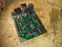 Płytka startowa dla mikrokontrolerów ATxmegaXXA4