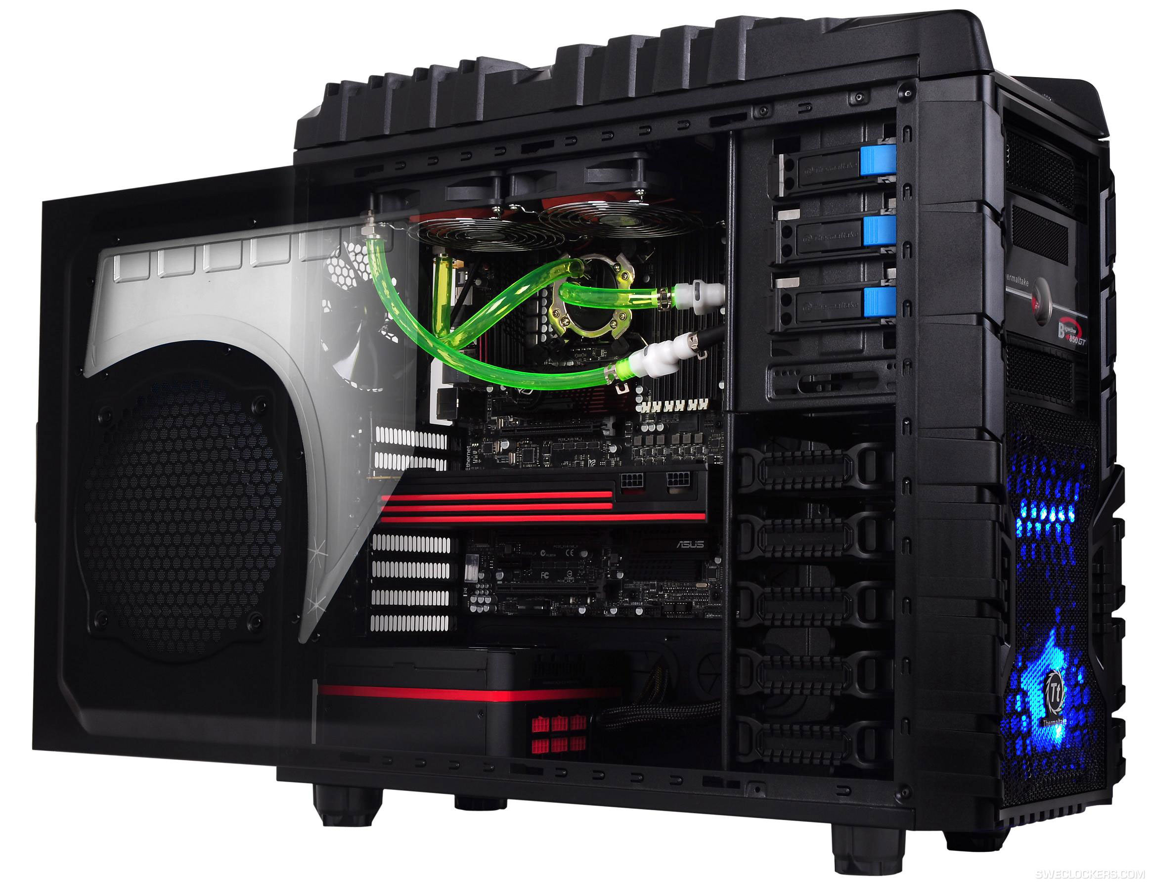 Корпус Cooler Master MasterBox 5 Black (MCX-B5S1-KWNN-11) w\o PSU