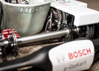 Prototypowy napęd elektryczny do gokartu od Bosch.