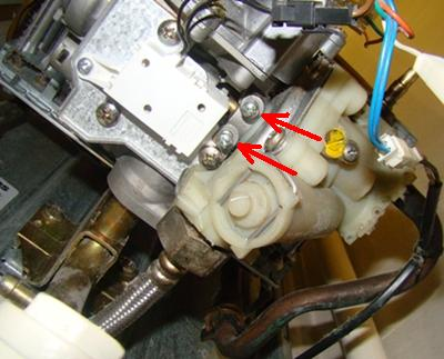 Junkers WRP 11-2B  - Kapie woda spod mikroprze��cznika