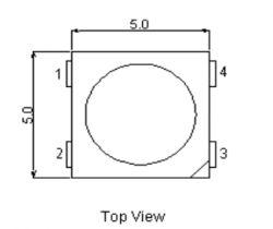 PIC18F45K50 jako sterownik paska LED WS2812 (teoria+biblioteka)