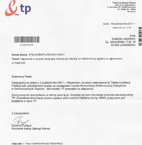 Neostrada TP oraz telefon - brak możliwości technicznych