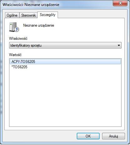 Sterowniki do karty sieciowej Ethernet 10/100