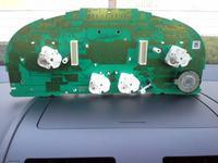 VW Touran 19 tdi 2005 dismantling of clocks not working buzzer