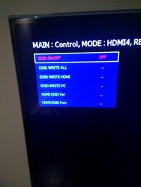 TV Samsung UE40D6500 - Poziome czarne paski na ekranie